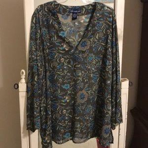 Susan Graver Style 2xl blouse
